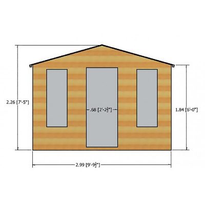 Elton Summer House 10 x 6