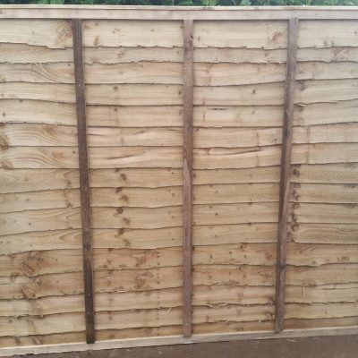Fence panel Waney 6ft x 5'6″