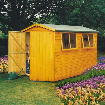 Atlas Apex Shed 10 x 8