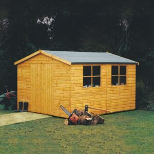 Bison WorkShop Garden Shed 12 x 10
