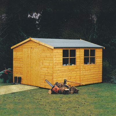 Bison WorkShop Garden Shed 14 x 10