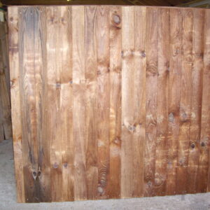 Heavy Duty Framed Fence Panel 6ft x 3ft