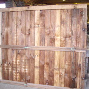 Heavy Duty Framed Fence Panel 6ft x 5.5ft