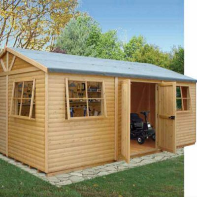 Mammoth Workshop Shed 10 x 20