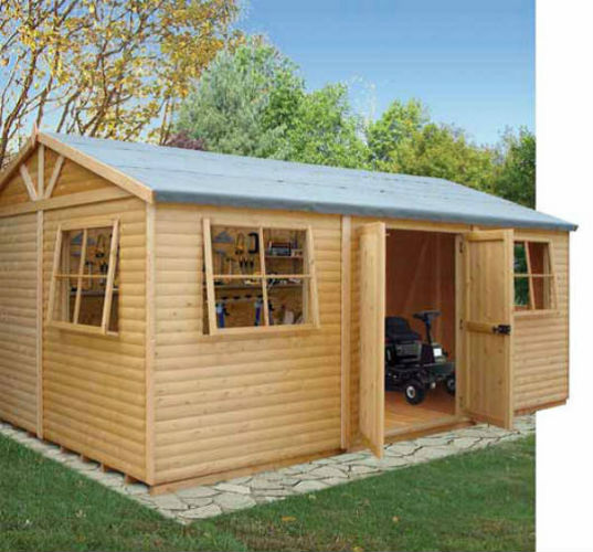 Mammoth Workshop Shed ...