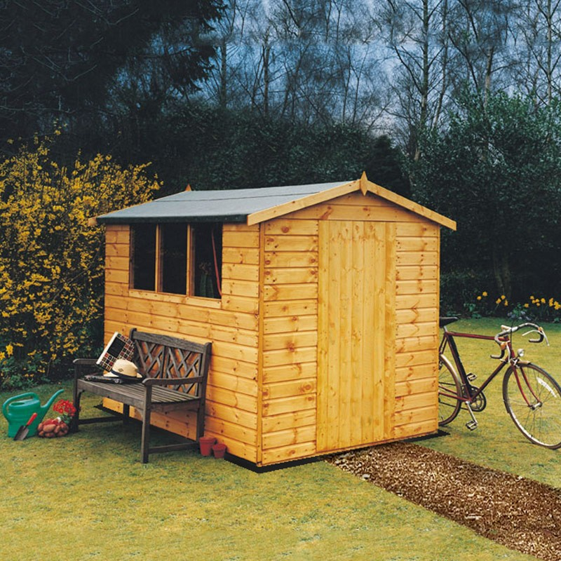 Lewis garden shed 12 x 8 colchester sheds and fencing for Garden shed essex