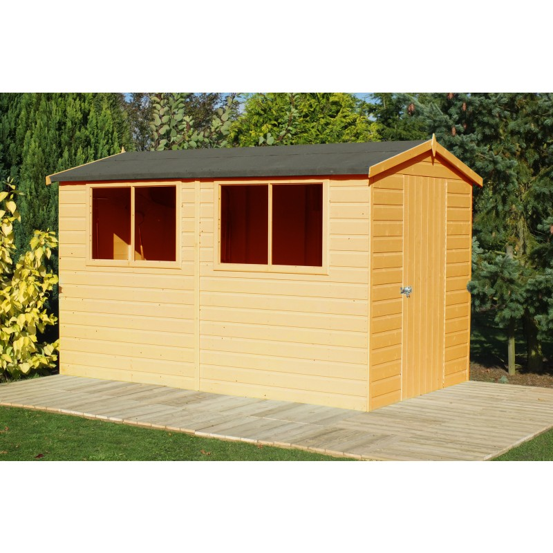 Lewis garden shed 10 x 8 colchester sheds and fencing for Garden shed essex