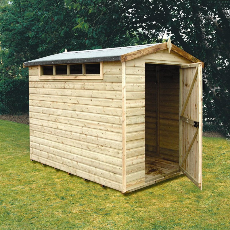 Security apex garden shed 10 x 10 colchester sheds and for Garden shed security