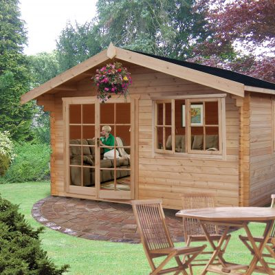 Abbeyford Log Cabin 12 x 14ft