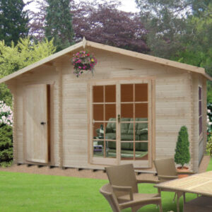 Bourne Log Cabin 14ft G x 12ft