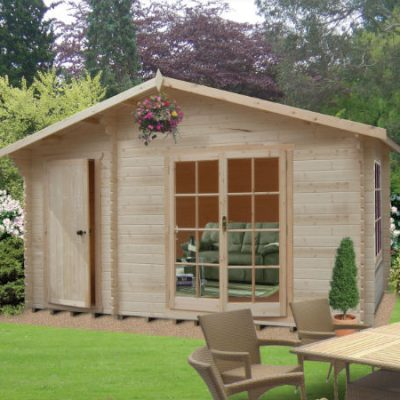 Bourne Log Cabin 16ft G x 16ft