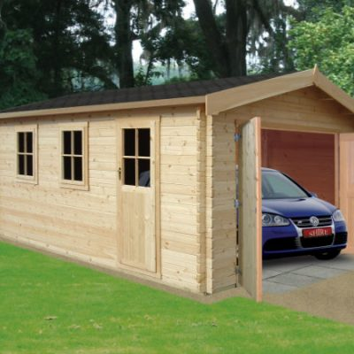 Bradenham Log Cabin 13 x 12ft