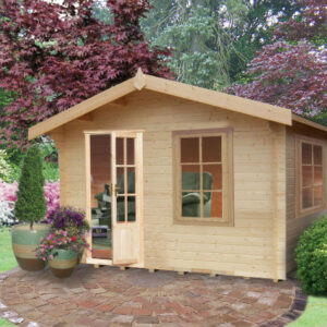 Bucknells Log Cabin 12ft G x 16ft