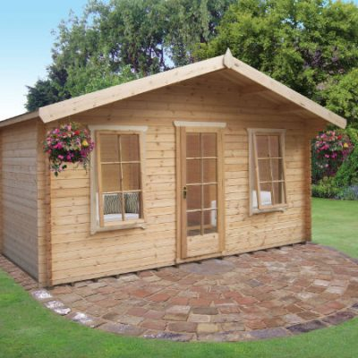 Drummond Log Cabin 15ft x 15ft