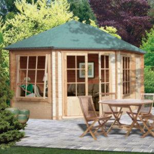 Leygrove Log Cabin 10 x 14ft