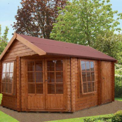 Livia Ropsley Log Cabin 10 x 14ft