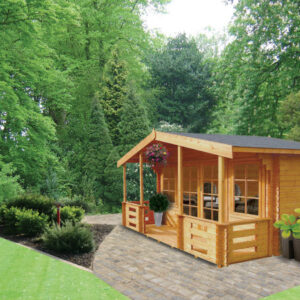 Lydford Log Cabin 14 x 15ft