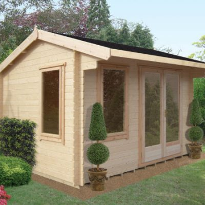 Malborough Log Cabin 12 x 12ft