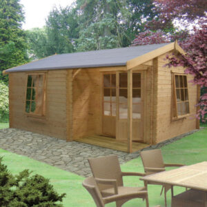 Ringwood Log Cabin 14 x 15ft