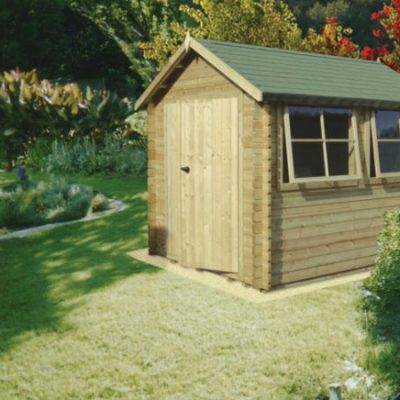 Solway Log Cabin 8 x 14ft