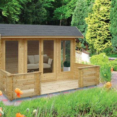 Wykenham Log Cabin 14 x 14ft