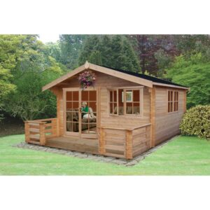 Abbeyford Log Cabin 14 x 14ft