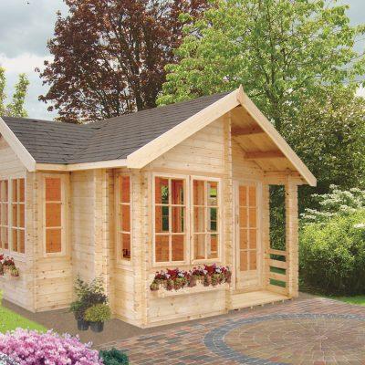 Bedgbury Log Cabin 17ft x 17ft