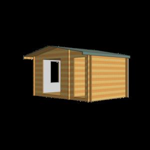 Bourne Log Cabin 14ft G x 10ft