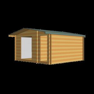 Bourne Log Cabin 14ft G x 14ft