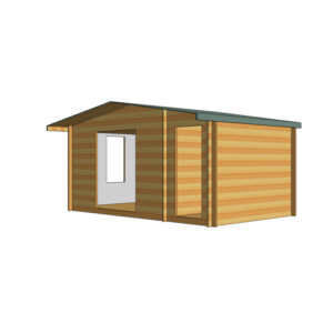 Bourne Log Cabin 16ft G x 10ft
