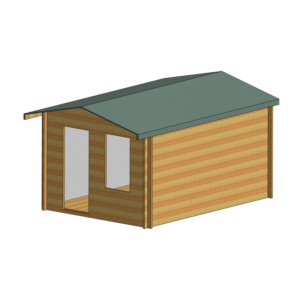 Bucknells Log Cabin 10ft G x 14ft