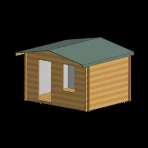 Bucknells Log Cabin 12ft G x 10ft