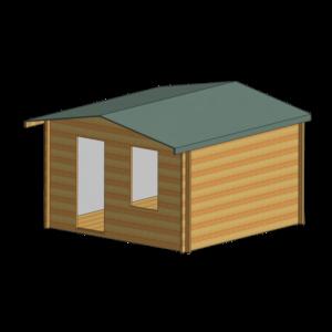 Bucknells Log Cabin 12ft G x 14ft