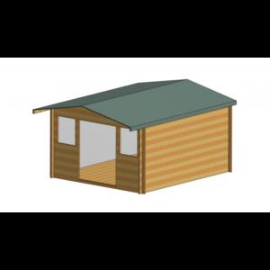 Clipstone Log Cabin 12ft G x 14ft