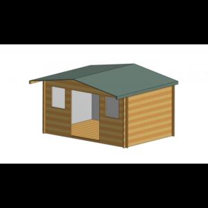 Clipstone Log Cabin 14ft G x 10ft