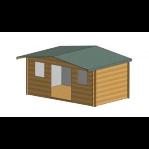Clipstone Log Cabin 16ft G x 10ft