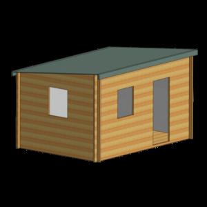 Dean Log Cabin 10ft G x 14ft