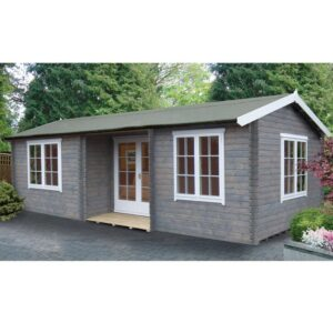 Elevden Log Cabin 14ft G x 26ft