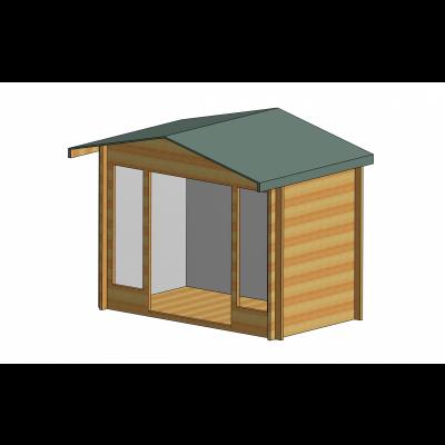 Epping Log Cabin 10ft G x 12ft