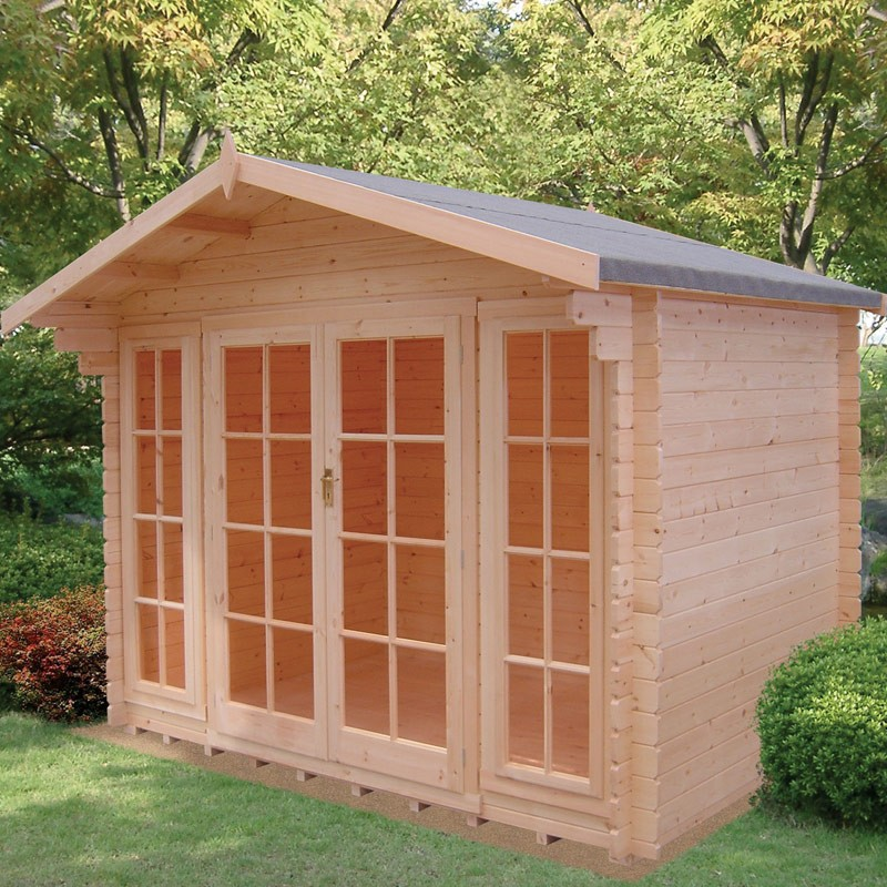 Epping Log Cabin 10ft G X 6ft Colchester Sheds And Fencing