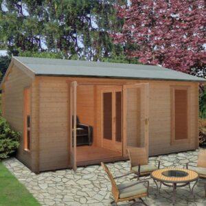 Firestone Log Cabin 13ft G x 17ft