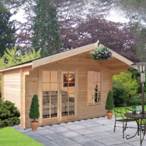Glenmore Log Cabin 12ft G x 8ft
