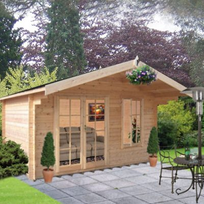 Glenmore Log Cabin 10ft G x 8ft