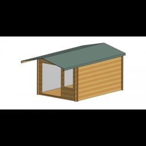 Glenmore Log Cabin 10ft G x 14ft