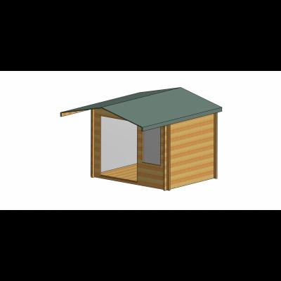 Glenmore Log Cabin 10ft G x 8ft