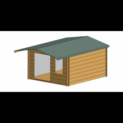 Glenmore Log Cabin 12ft G x 14ft