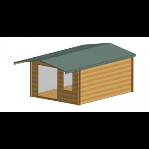Glenmore Log Cabin 12ft G x 16ft