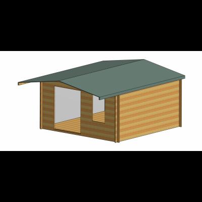 Glenmore Log Cabin 14ft G x 14ft