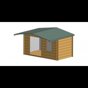 Glenmore Log Cabin 14ft G x 8ft