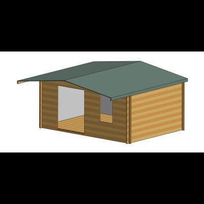 Glenmore Log Cabin 16ft G x 12ft
